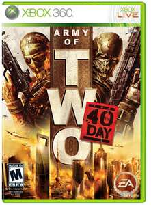 Jogo Army of Two 40 Day - Xbox 360