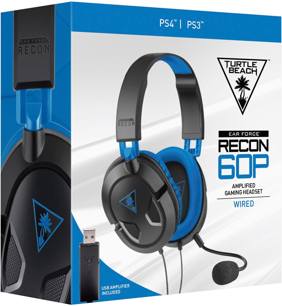 Headset Ear Force Recon 60P - Turtle Beach - PS4/PS3