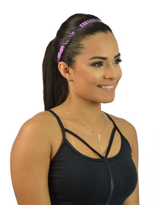 Black Cherry  Headband Antiderrapante Estampa  1
