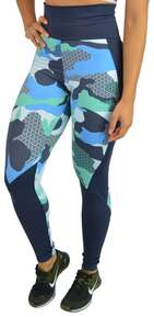 Legging Camuflada Azul Compress®