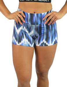 Short Fluity Estampa Tie Dye Azul