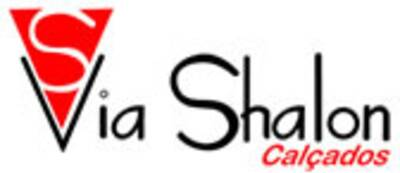 Via Shalon  Chinelo Prata logo 1