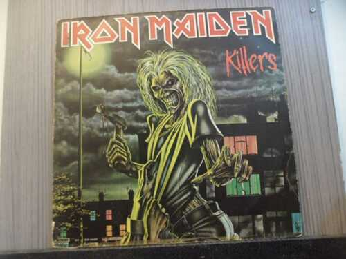 IRON MAIDEN - KILLERS (NACIONAL)