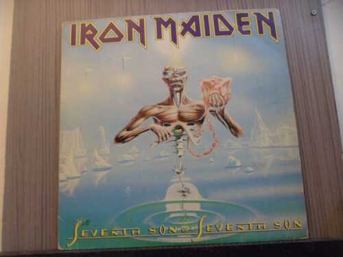 IRON MAIDEN - SEVENTH SON OF A SEVENTH SON (NACIONAL)