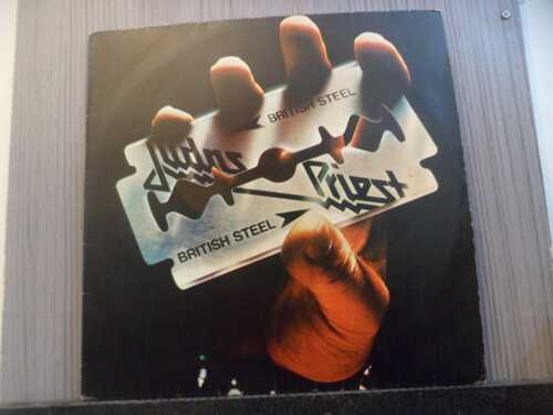 JUDAS PRIEST - BRITISH STEEL (NACIONAL)