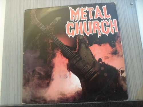 METAL CHURCH - METAL CHURCH (NACIONAL)