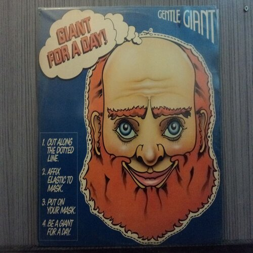 GENTLE GIANT - GIANT FOR A DAY (NACIONAL)