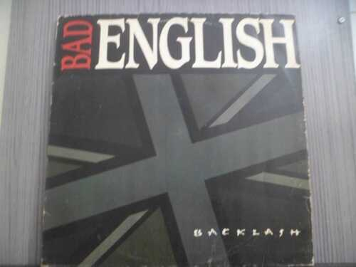 BAD ENGLISH - BACKLASH (NACIONAL)