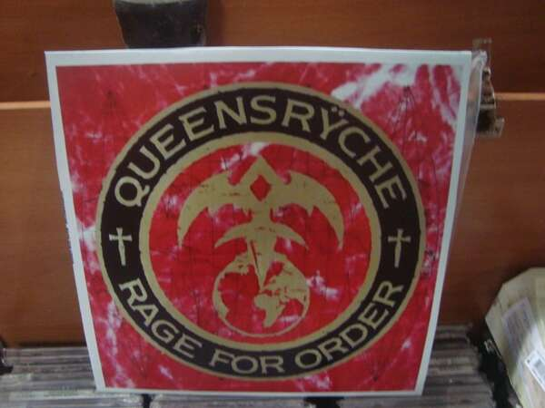 QUEENSRYCHE - RAGE FOR ORDER (NACIONAL)