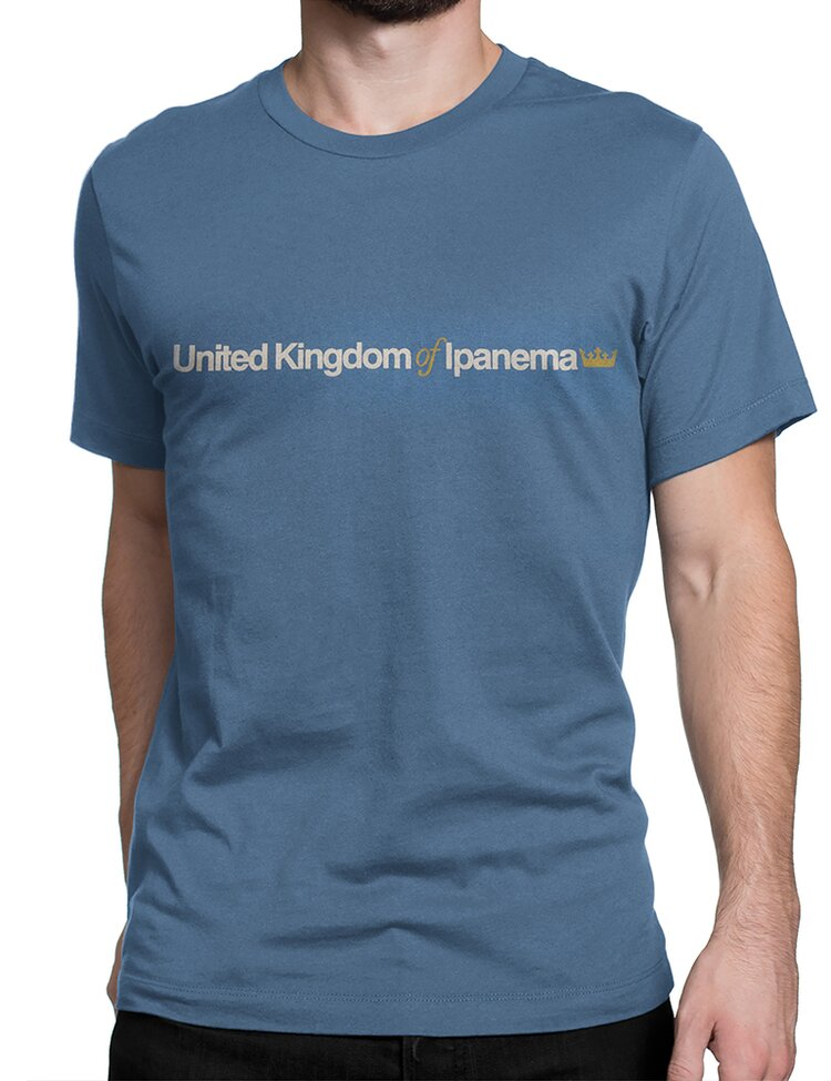 Camiseta Osklen Vintage United Kingdom