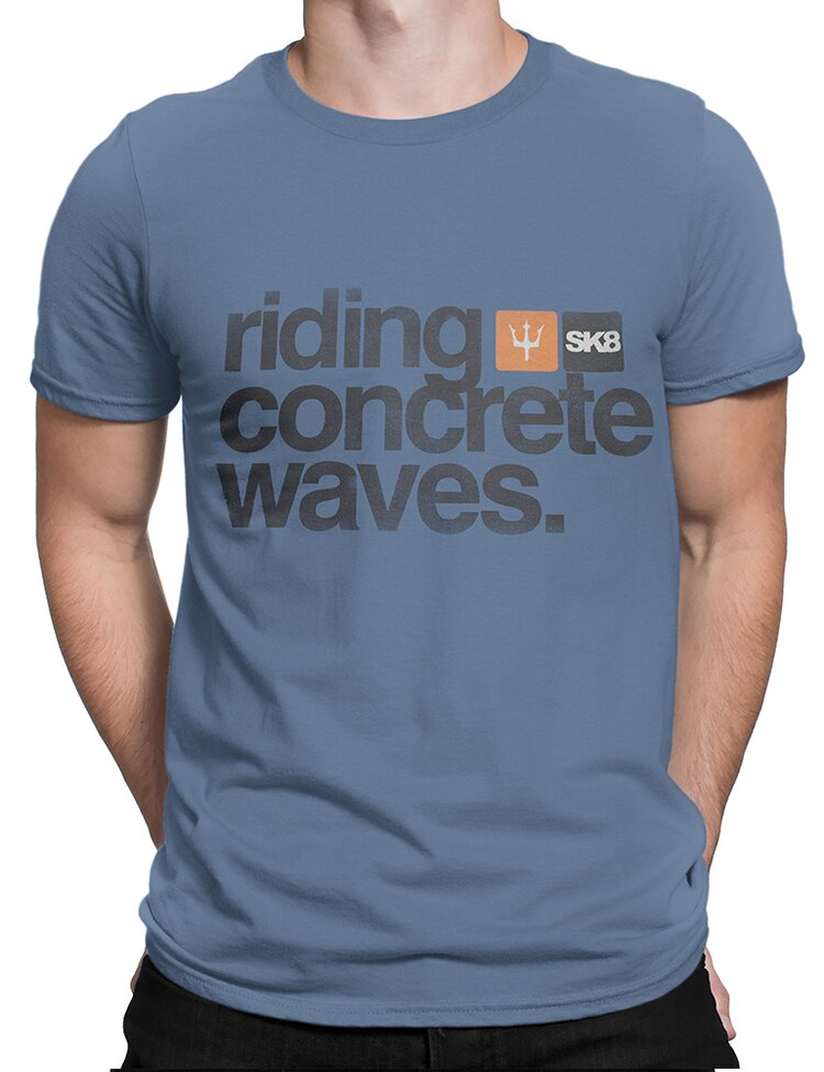 Camiseta Osklen Vintage Riding Concrete