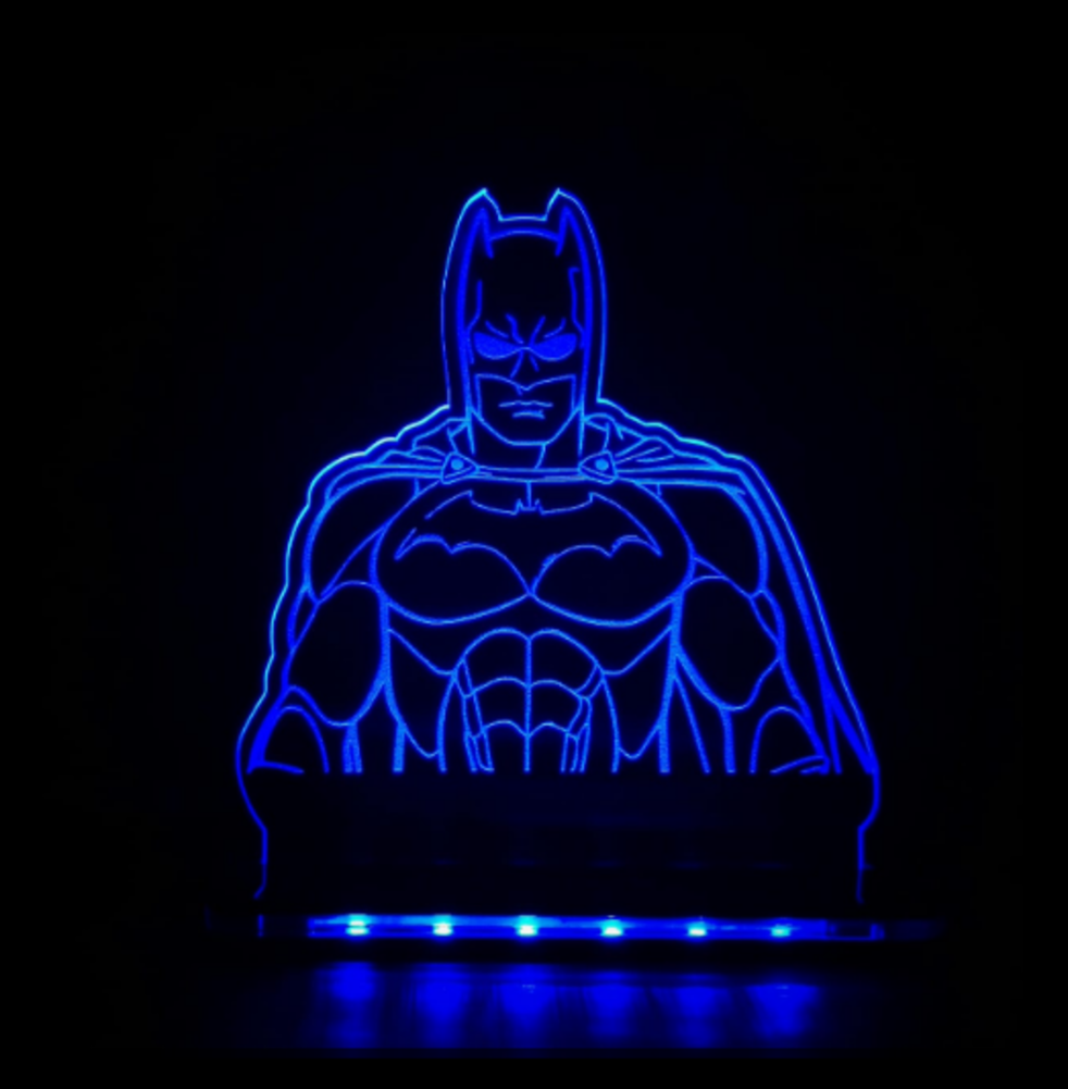LUMINARIA / ABAJUR BATMAN