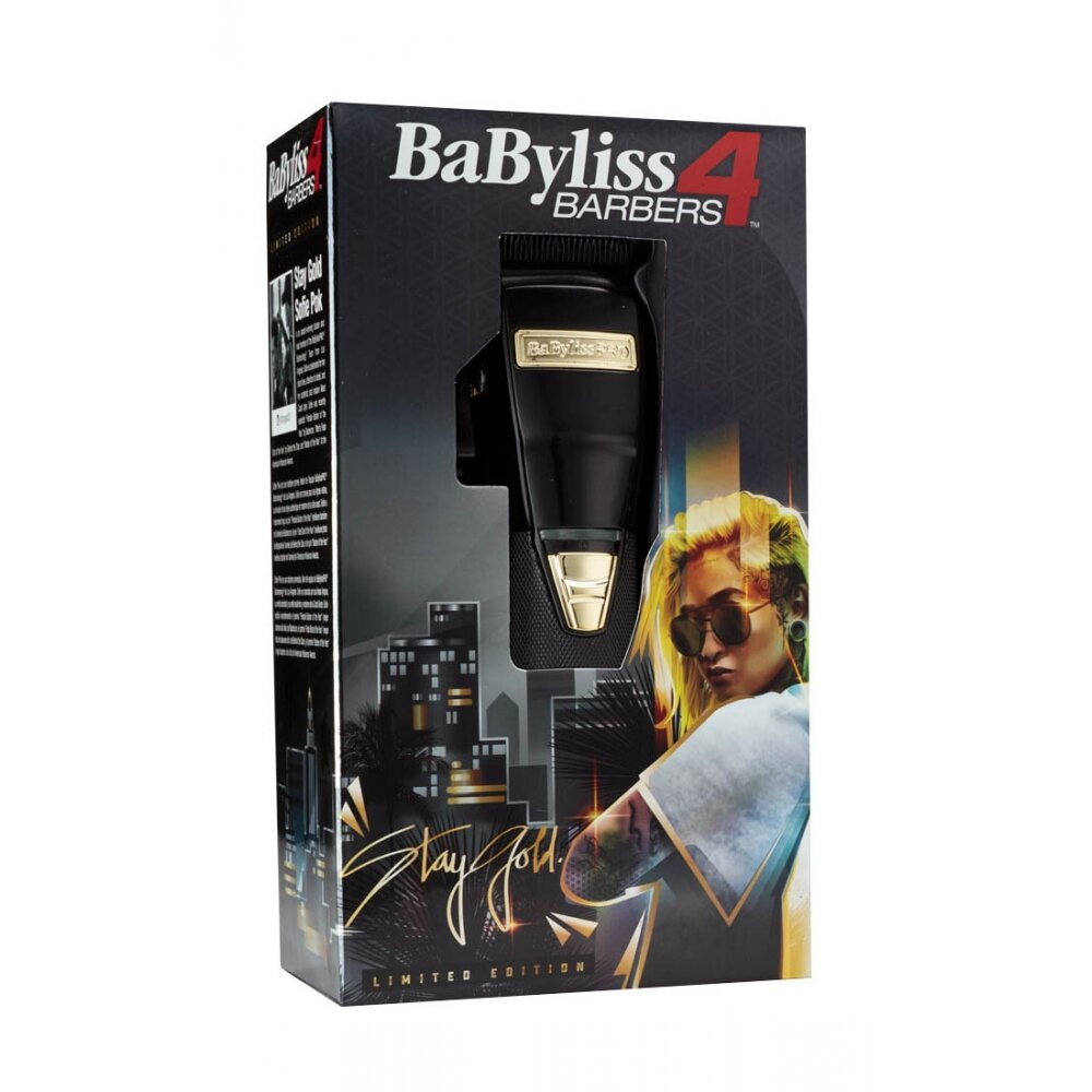 Máquina de Corte BaByliss PRO 4 Barbers Stay Gold Sofie Pok