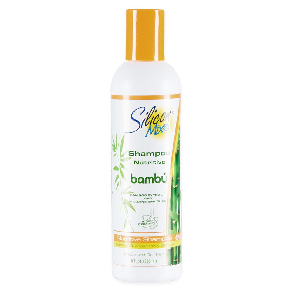 Shampoo Silicon Mix Nutritivo Bambú 236ml