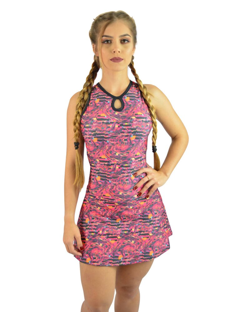 Vestido Short Covertte Estampado