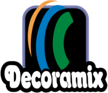 Decoramix  Bajur Led Balões Love 3D logo 1