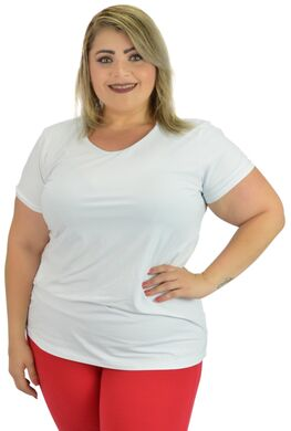 Loja Xamego Gold Beach  Camiseta Fitness Plus Size   1