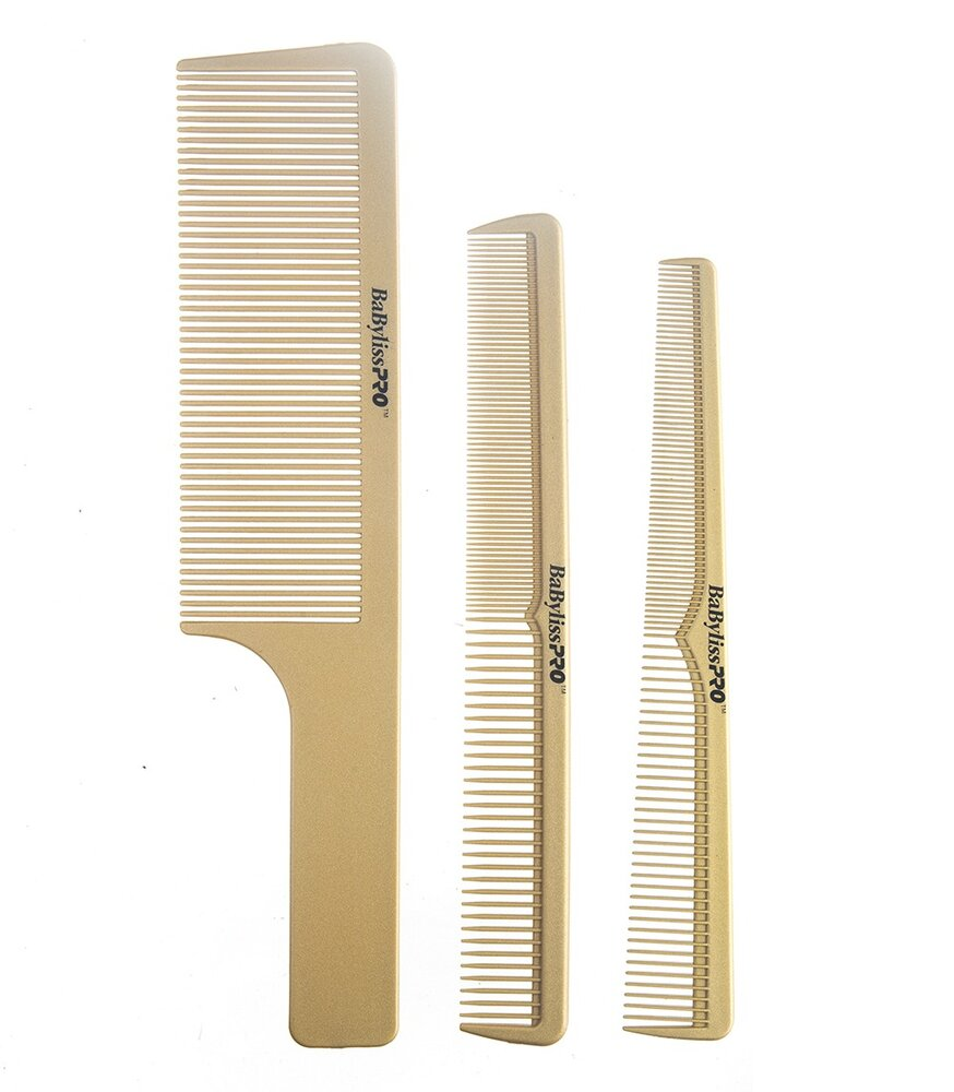 Pente Babyliss Pro BARBERology Kit c/3 pentes By Roger