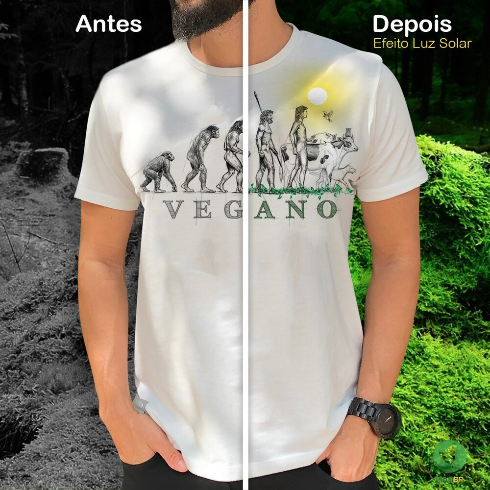 T-shirt Pet Vegano