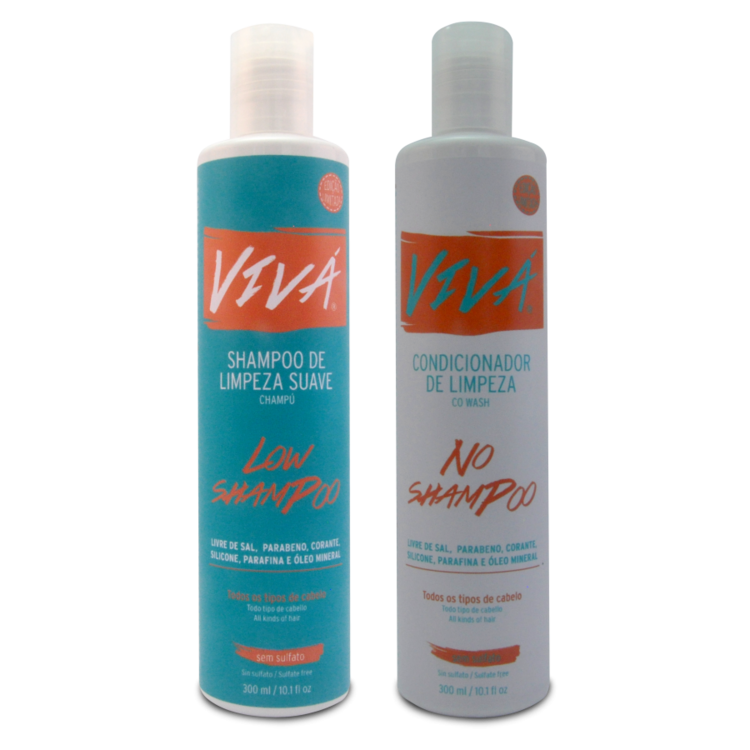 Kit Low e No ShamPoo Vivá 300ml