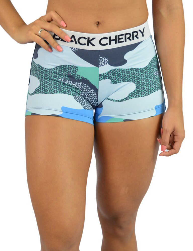 Short Camuflado Azul Compress®