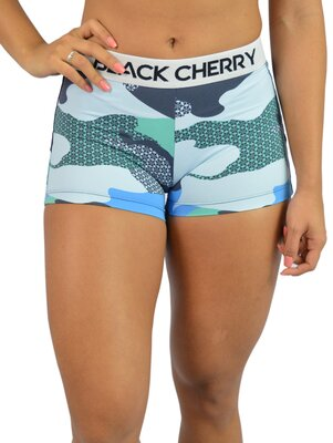 Black Cherry  Short Camuflado Azul  1