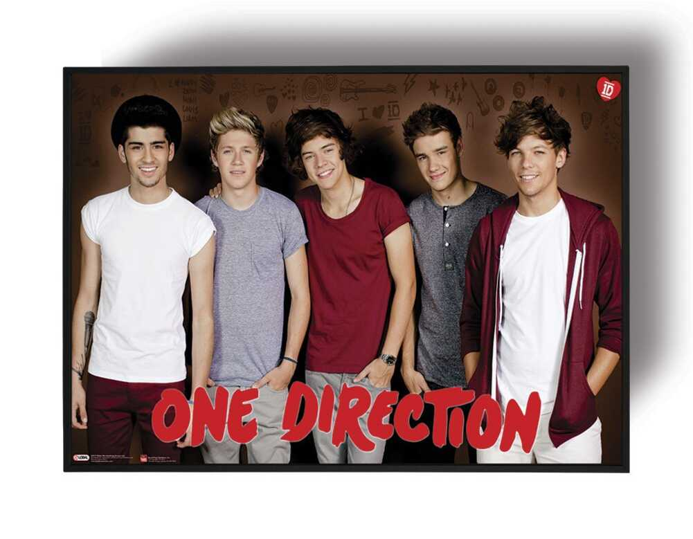 Quadro emoldurado - One Direction