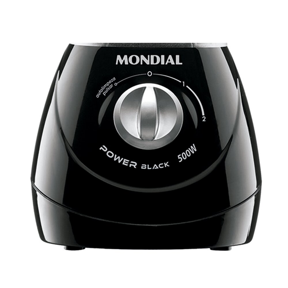 Liquidificador Power Black 500W Mondial