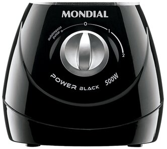 CasaTudo  Liquidificador Power Black 500W Mondial  2
