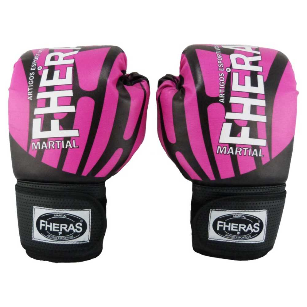 Luva boxe muay thai TOP - ELITE ROSA