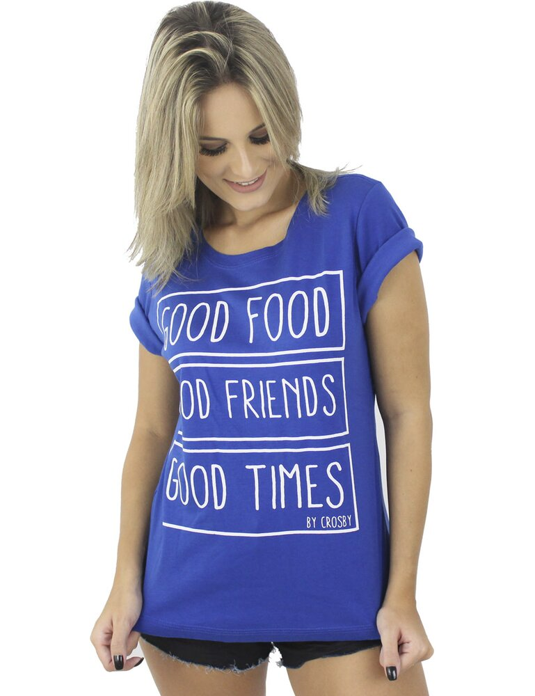 T'shirt Feminina Crosby good