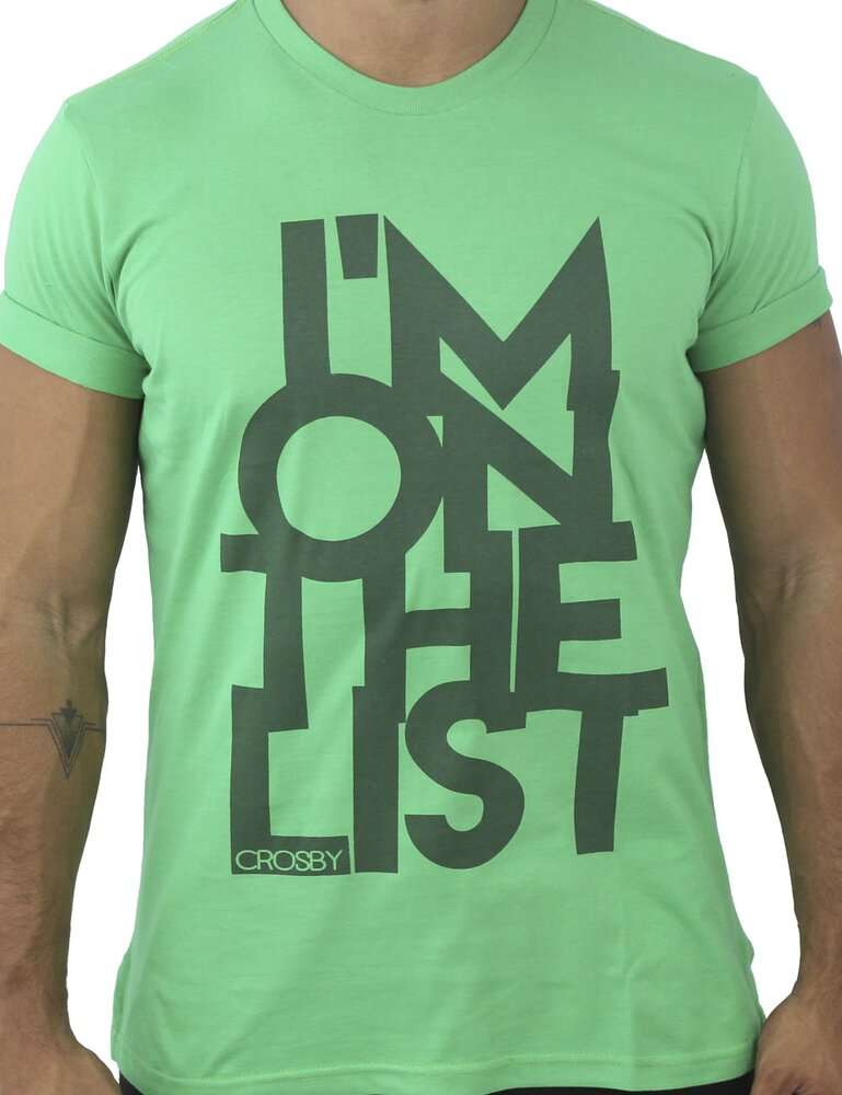 Camiseta T'shirt list