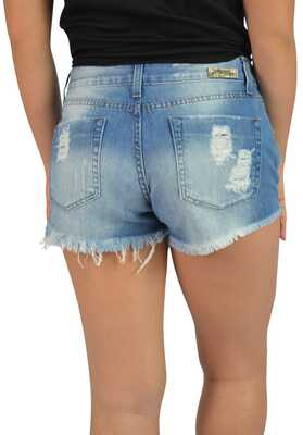 I&M Store  Short Jeans Detroyed Frontal   2